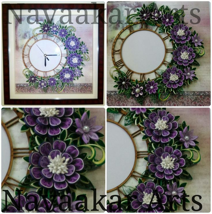 16 best quilling clocks images on Pinterest   Quilling ...