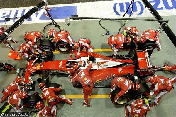 Arrivabene elogia Kimi per il sorpasso su Hamilton