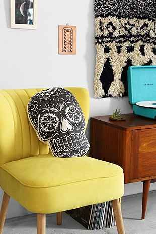 Fun decorative pillow that also brings a little culture to your room.