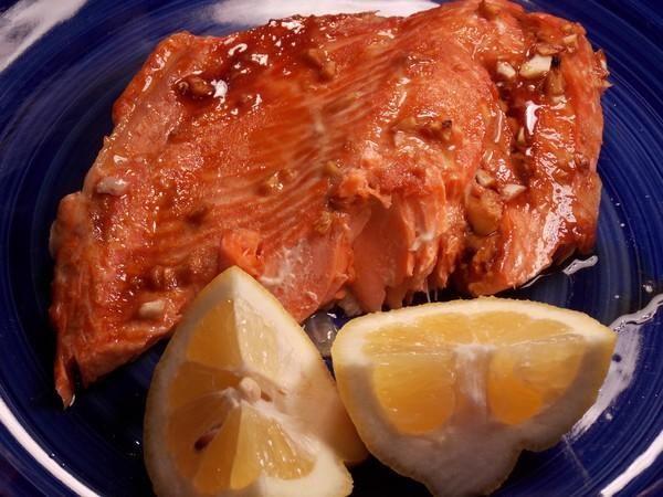 Maple Soy Salmon Glaze