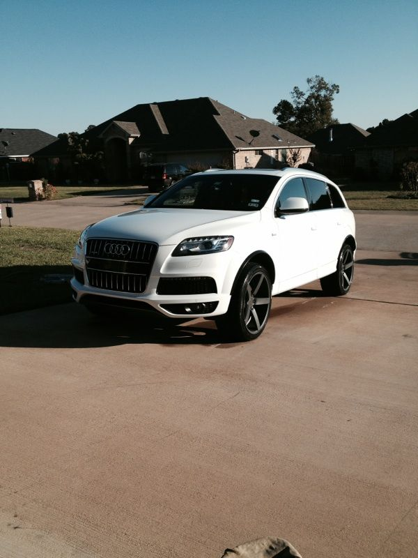 Audi Q7 on Vossen CV3's