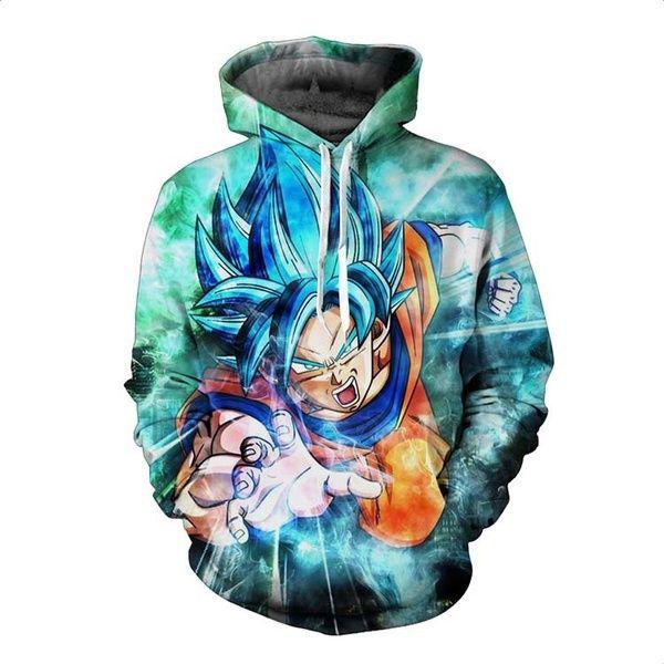 Ultra Instinct Goku Print Men S Fashion Plus Size Hoodie Dragon Ball Z Hooded Sweatshirt S 5xl Asian Size Hoodies Men Anime Hoodie Christmas Dragon