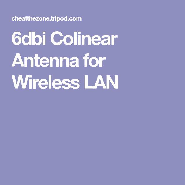 6dbi Colinear Antenna for Wireless LAN