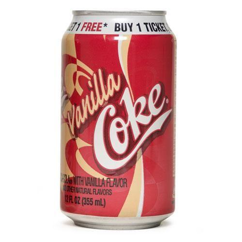 vanilla coke , omg did i ever love this stuff!