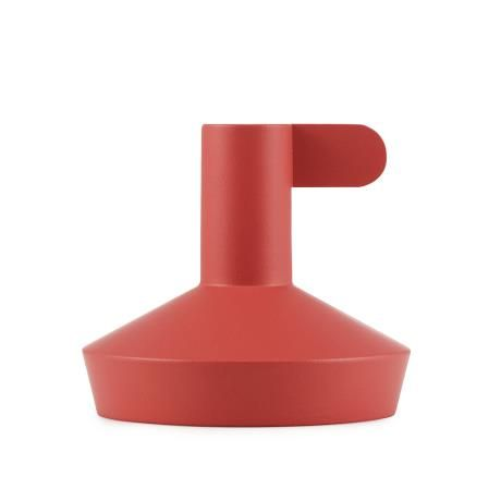 Flag Candle Holder, red