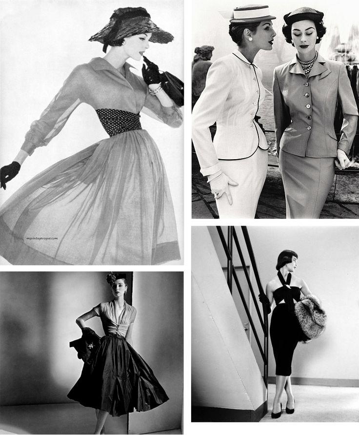 Na een dag winkelen zag ik in de mode weer veel elementen terug van de fifties. Alles aangepast aan deze tijd, maar onmiskenbaar vijftiger jaren!