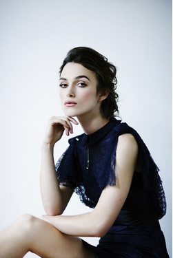 She looks very Mrs Darcy here... regal pose... Keira ...