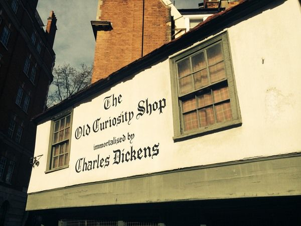 The quaint little store that is said to have inspired a famous Dickens novel was only given its name after the book was released
