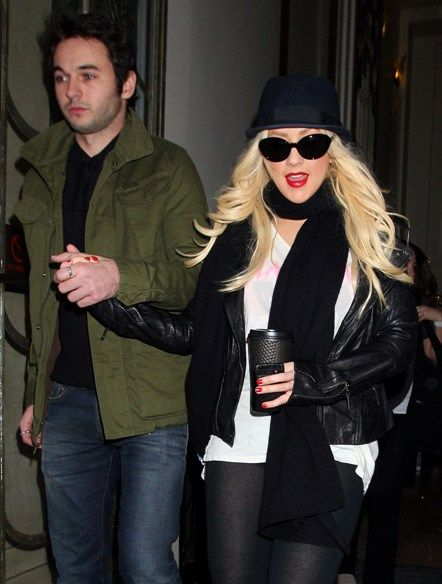 Christina Aguilera steps out with Matt Rutler