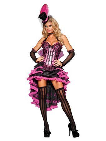 Elite Women's Sexy Burlesque Beauty Costume | Sexy Burlesque Halloween Costumes