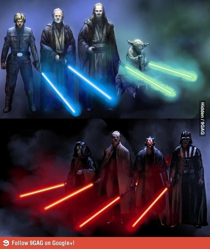Star Wars /// Jedy Vs Sith