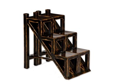 Shop For Uttermost Asher Black, Accent Table, 25523, And Other Living Room  Tables At Bennington Furniture In Rutland Vermont, Bennington Vermont, ...