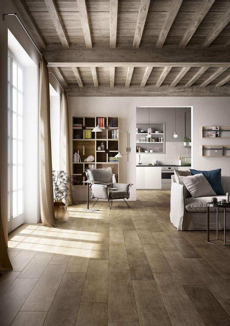 Fabulous Kennen Sie die Kollektion TreverktimeMarazzi Treverktime ist von Eichenholz inspiriert und umfasst helle wie dunkle Nuancen Das Steinzeug in Holzoptik