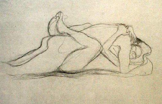 Gustav Klimt erotica sensual29