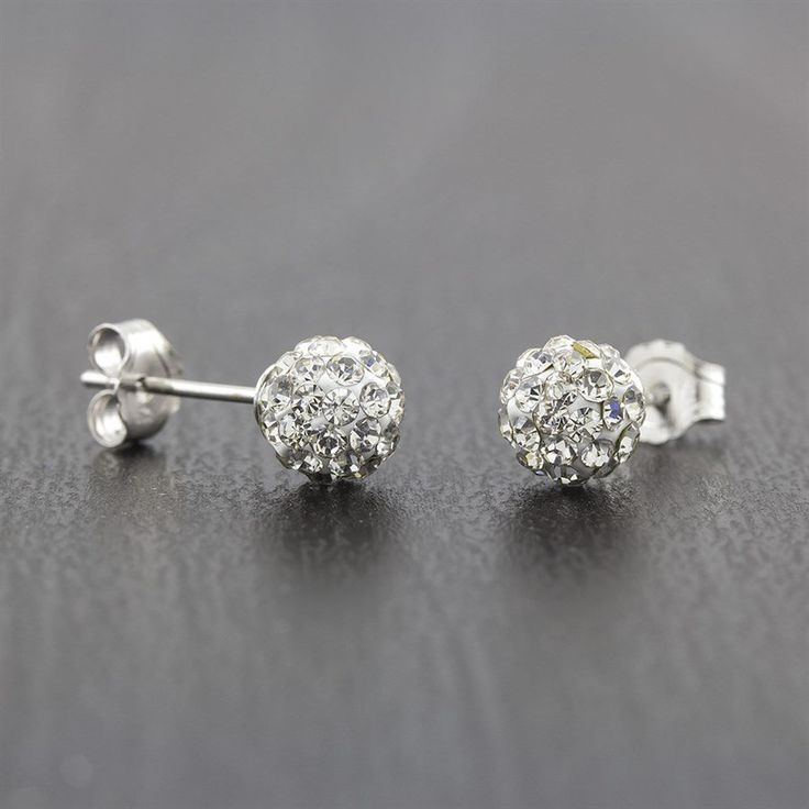 JANE: *6 Hours Left! Stock Up for Gifts!* Was $40, NOW $3.99 + Ships FREE! Sterling Silver Crystal Ball Studs SAVE $36: https://rvst.shop/2sQR5sl #ad