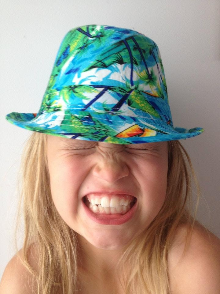 Hawaiian hats from Beautiful Soles