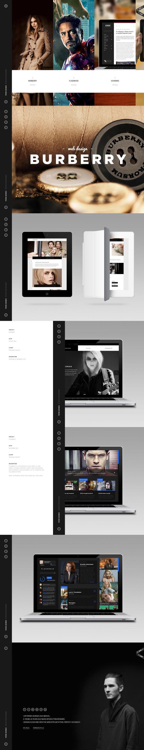 #WebDesign Nerval