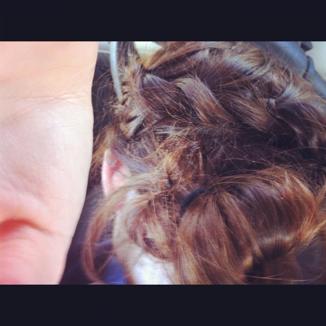 I love when Minji Han does my hair <3