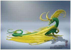 Loki Dragon by LyntonLevengood
