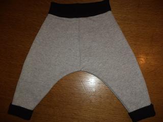 DIY baby harem pants