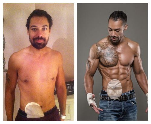 Yoga Body Before And After Male