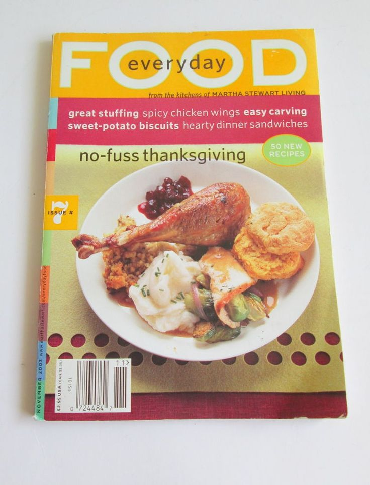 34 mejores imgenes de magazine everyday food en pinterest martha stewart everyday food magazine 7 no fuss thanksgiving november 2003 forumfinder Gallery