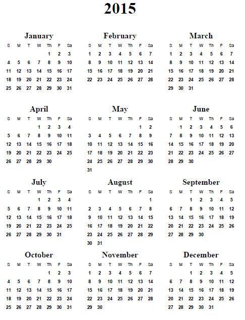 Best 25+ Free printable calendars 2015 ideas on Pinterest | Free ...