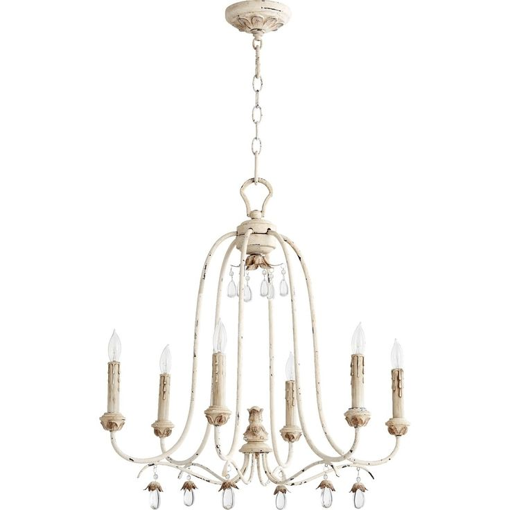 Quorum International Venice Family 6 Light Transitional Chandelier