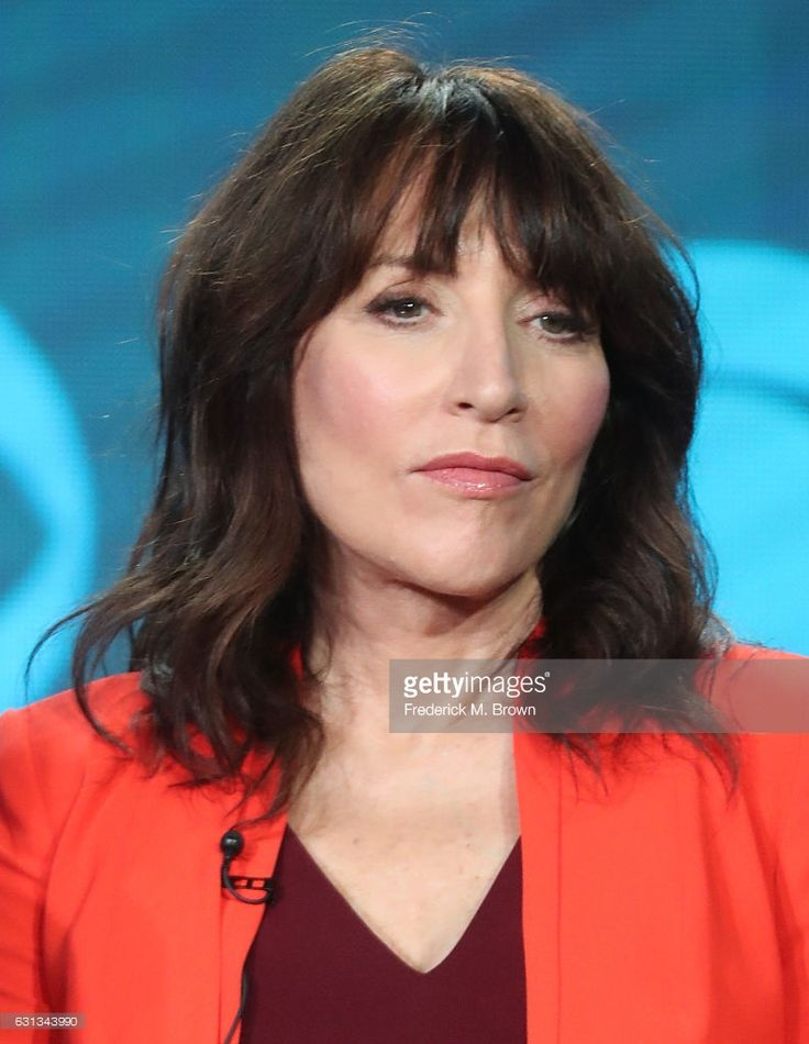 Actress Katey Sagal of the television show 'Superior Donuts' speaks onstage during the CBS portion of the 2017 Winter Television Critics Association Press Tour at the Langham Hotel on January 9, 2017 in Pasadena, California.