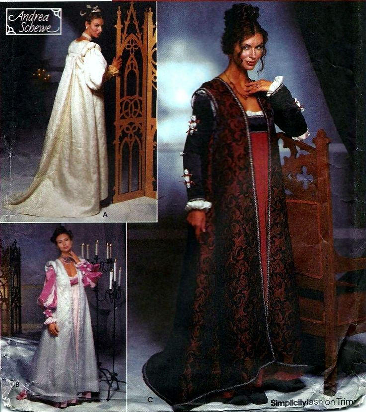 105 Best Images About Renaissance Sewing Patterns On Pinterest: 131 Best Costumes & Historical Reenactors Costume Patterns