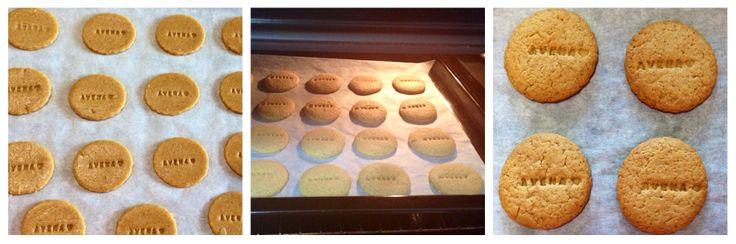 Biscotti homemade con farina d'avena senza glutine