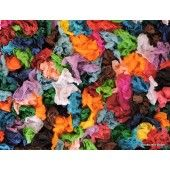 """""""Multi Colored Crunch"""" Brooks Reid Brown - Artist Artograph on Canvas stretched and ready to hang 18"""" x 24""""  $195.00 - See more at: http://gallerystthomas.com/art-medium/acrylic-paintings/multi-colored-crunch.html#sthash.70Pr4zTf.dpuf"""