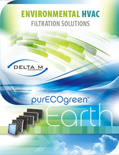 A little bit of what we are working on.  Delta M - Pure Eco Green Filtration catalog brochure  25.5x11 tri-fold brochure with AQ coating. All design and product photography shot in-house. We love our work.  Tumblr