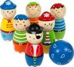 Bigjigs kręgle piraci to świetna rodzinna zabawa. Dostępne na terenie całej Polski.