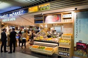 Has a such a fresh, clean look. > Harvest Market restaurant by Redesign Group, Amsterdam - Netherlands