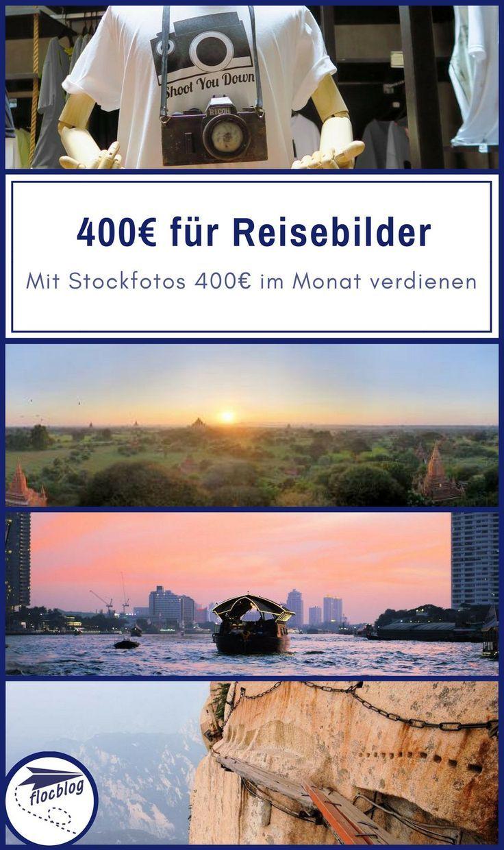 400 Euro im Monat: Reisebilder als Stockfoto verkaufen