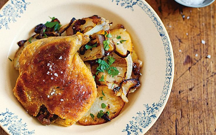 Pierre Koffmann's confit de canard. A traditional recipe from south-west   France.