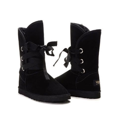 Ugg Roxy Short Boots 5828 Black