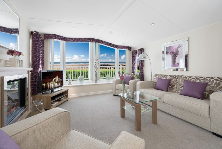 purple sofas living rooms | Purple and White Interior Living Room Design with Beautiful Purple ...