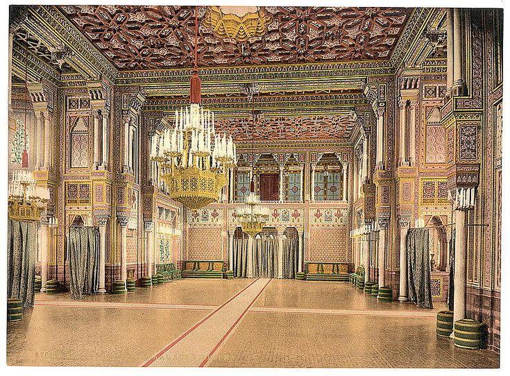 Festsaal in der Wilhelma