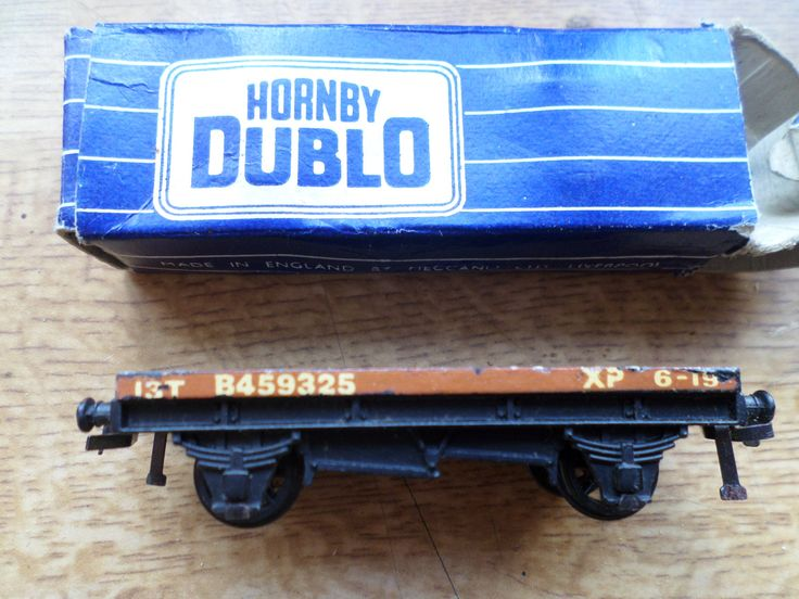 Hornby Dublo 00 Gauge Tinplate D1 Low Sided Wagon by RoseCollectable on Etsy