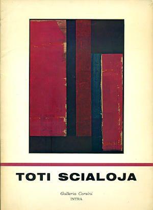 Toti Scialoja. Collages Roma, Galleria Corsini, 1976