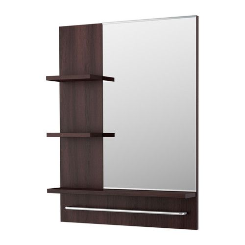I would love to use a 2 mirrors like this for my bathroom.....the second one would have to be opposite to look right though.