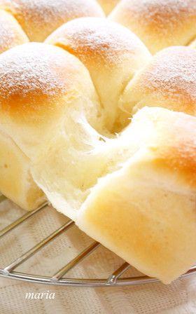 ふんわ~り*理想のミルクちぎりパン by maria358 [クックパッド] 簡単おいしいみんなのレシピが234万品