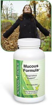 Muscous Formula helps cure chronic sinusitis
