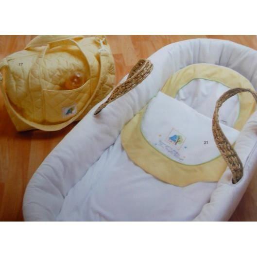 Drap de berceaux + taie bébé brodés - Magic                                                    - Drap deberceau + taiemagic brodé  Dimensiondrap80 cm x 120 cm  taie25 cm … 16.15euro