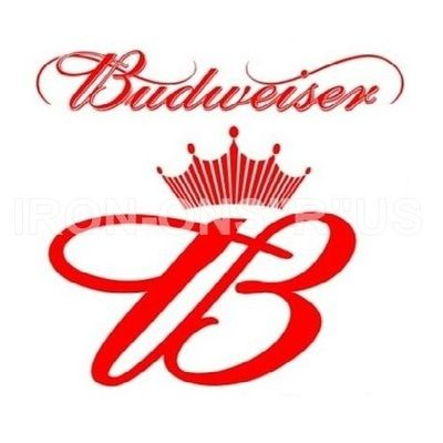 12 best alcohol iron ons instantironons images on for Budweiser logo tattoos