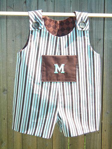 Boy romper/overalls