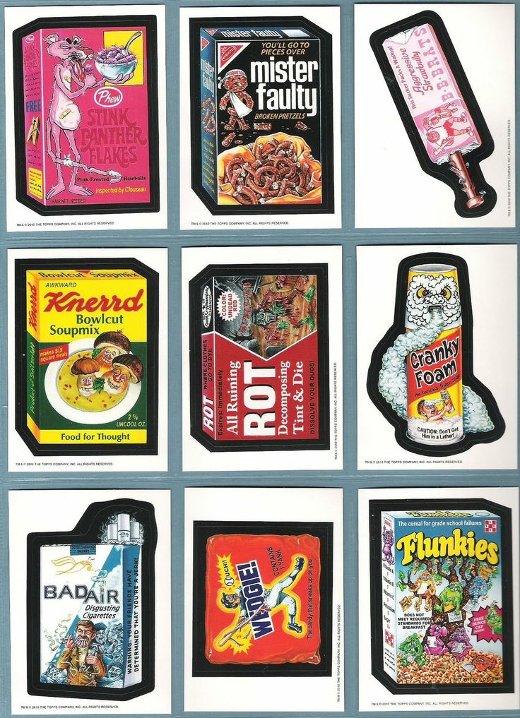 images of wacky packages | The Fleer Sticker Project: Wacky Packages Old School Series 2