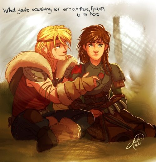 juliajm15 tumblr | juliajm15:A few rule 63 Hiccup and Astrid, just becauseand a special ...